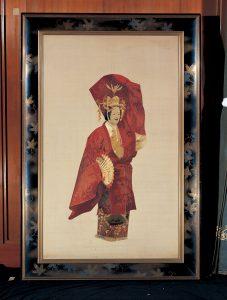 菅原直之助「羽衣刺繍額」 明治40年(1907)頃 静嘉堂文庫美術館蔵【全期間展示】